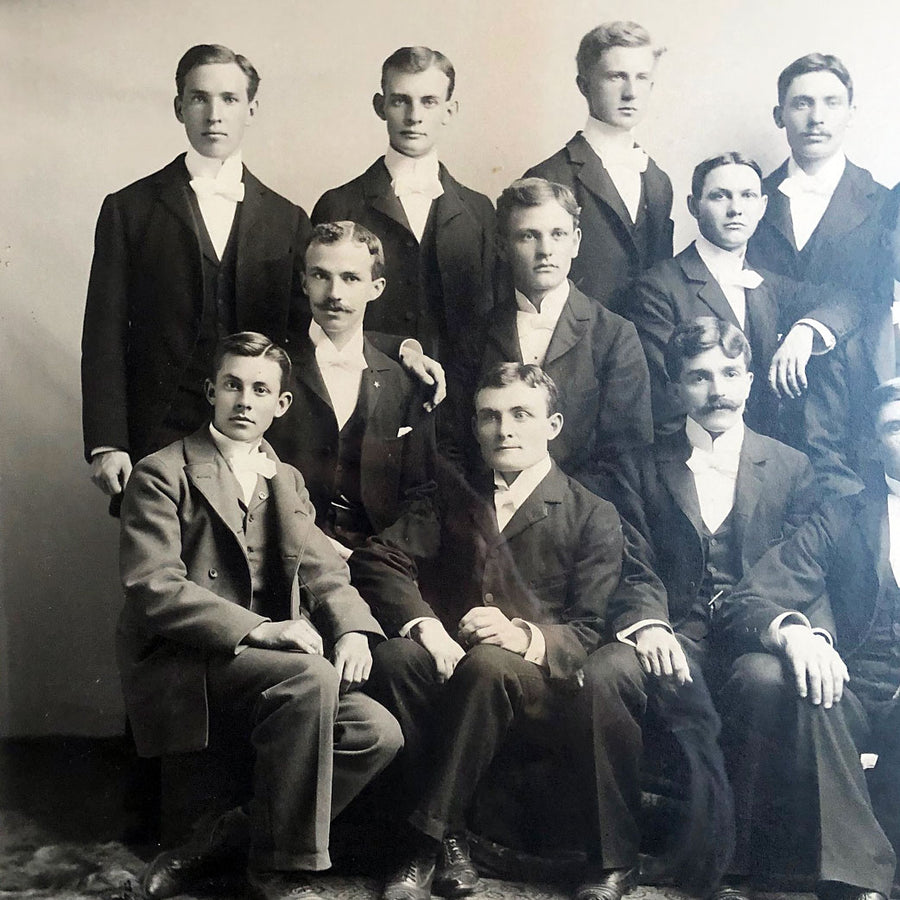 Well Dressed Gentlemen Photograph Vintage Art