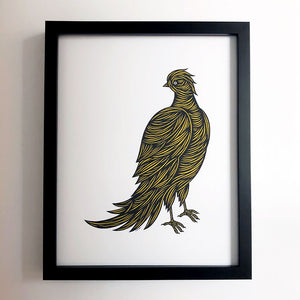 Don Carney Gentle Bird Topaz Art Print {DCP04}