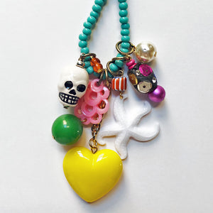 Yellow Heart Necklace 1