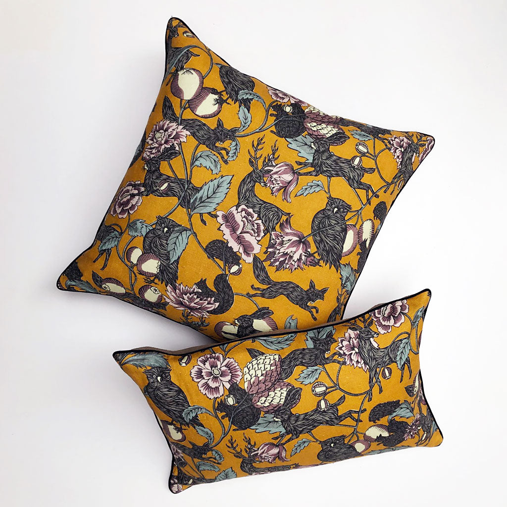 PATCH  NYC x Antoinette Poisson Twilight Yellow Multicolor Pillows