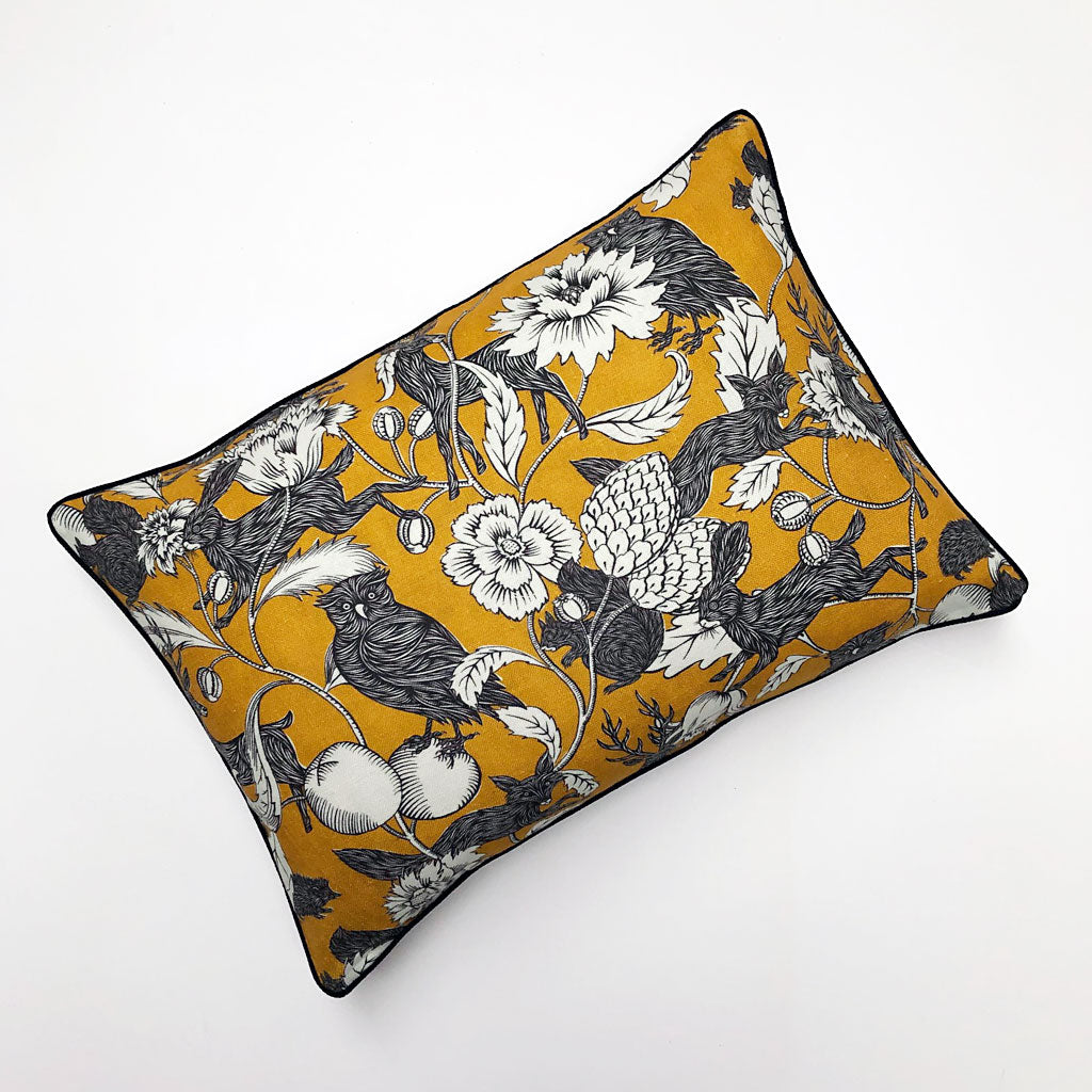 PATCH  NYC x Antoinette Poisson Twilight Yellow Pillow