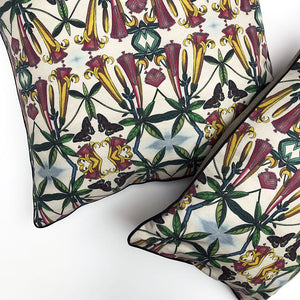 Yellow Trumpet Pillow