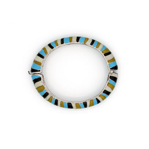 Zebra Stripe Bangle {P104BE}