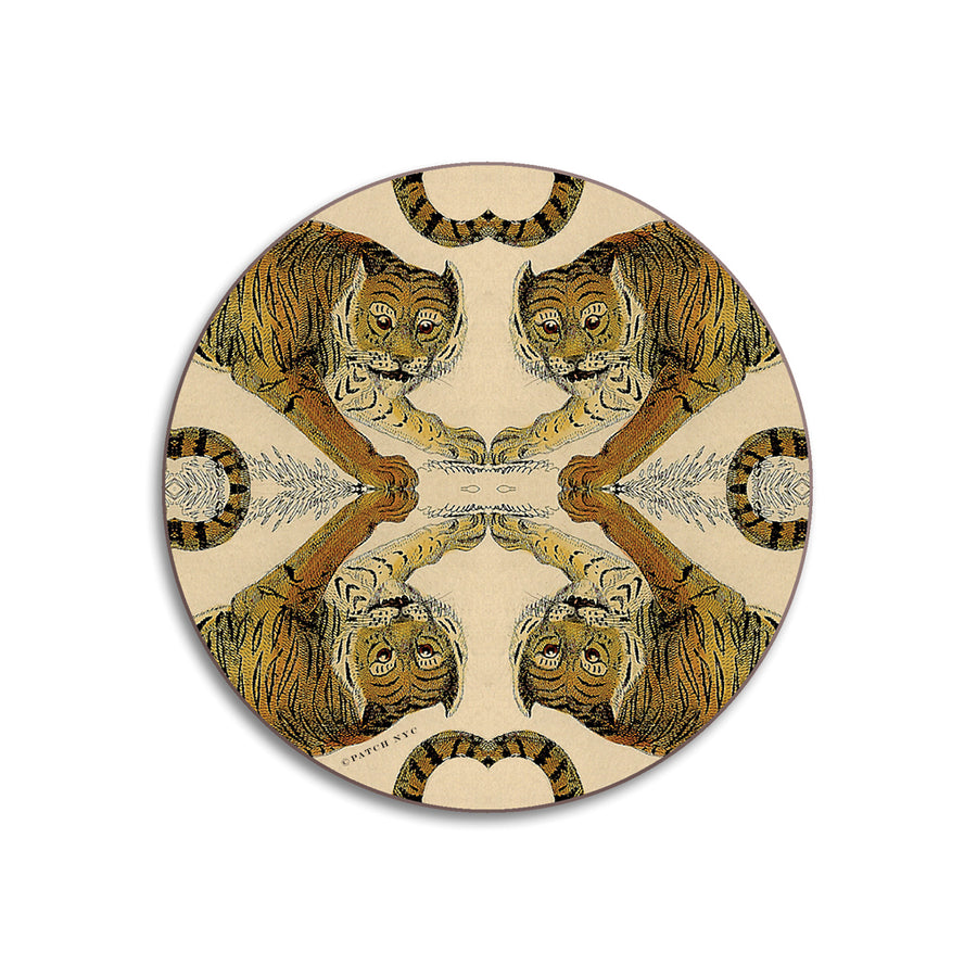 PATCH NYC Tiger Coaster Set {AVCT}