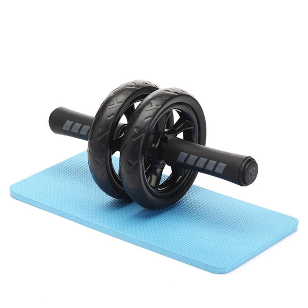 Simple and Convenient Abdominal Wheel Roller With Mat For Exercise