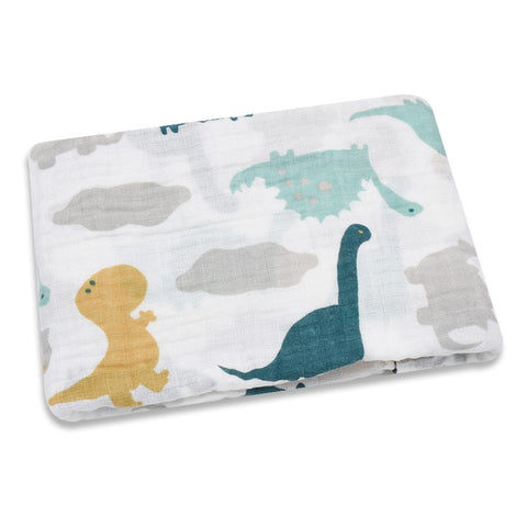 Multi-Use Breathable Muslin Swaddle