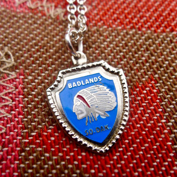 South Dakota Shield Necklace