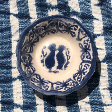 Deep Indigo Jewelry Dish