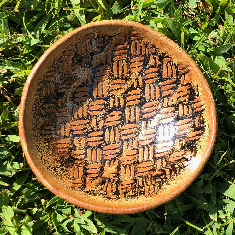 Clay Pottery Jewelry Dish