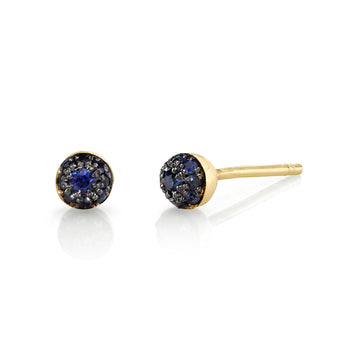 Mini Pave Ball Studs