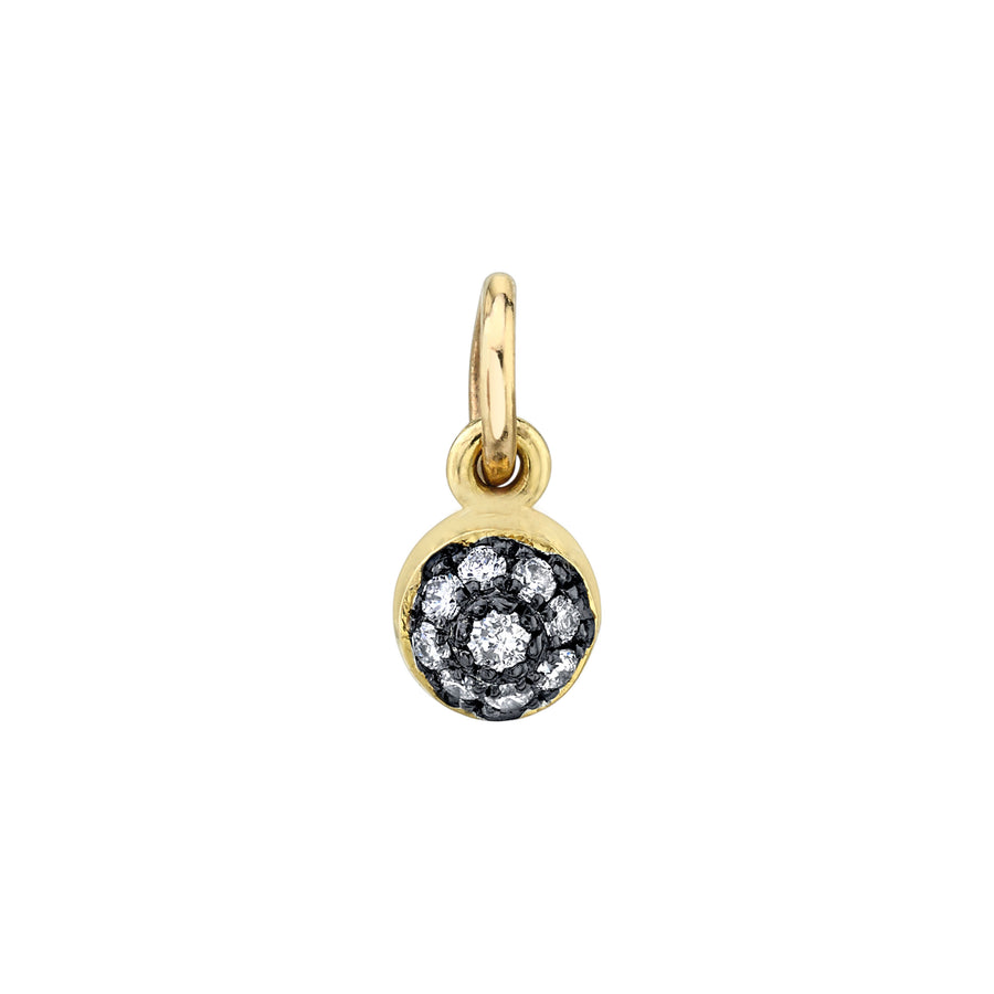 Pave Ball Charm - Diamond