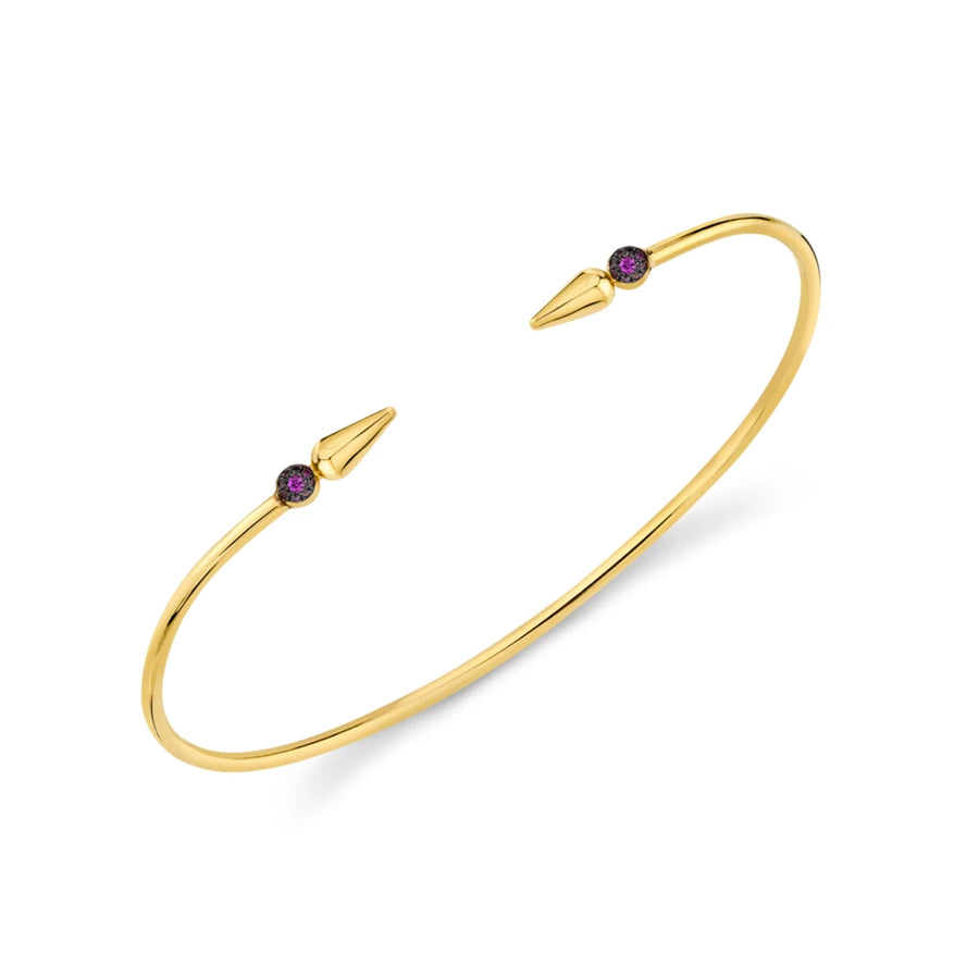 Pave Center Shirley Spear Bangle