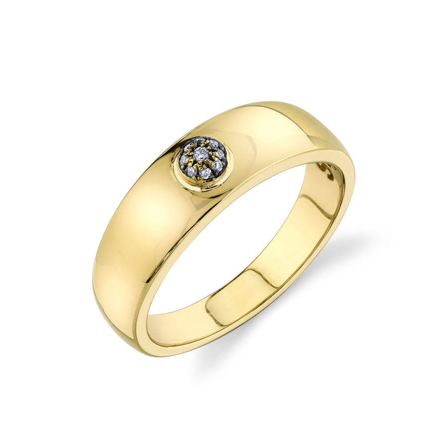 Pave Dome Ring - Diamond