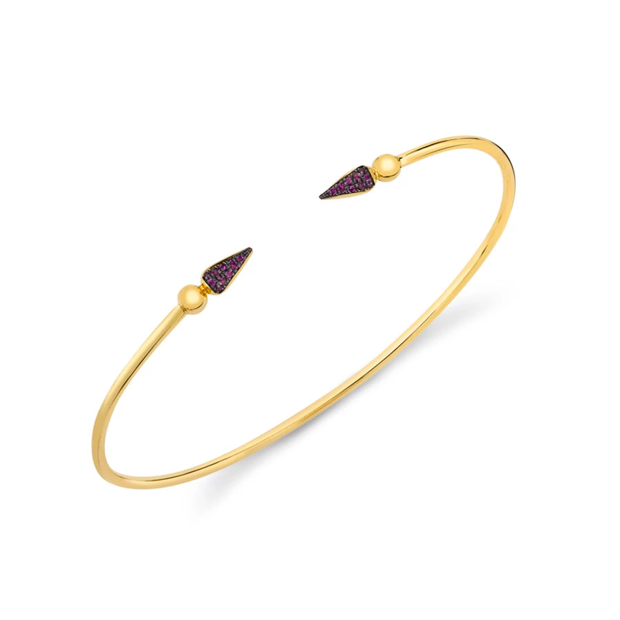 Pave Spear Shirley Bangle