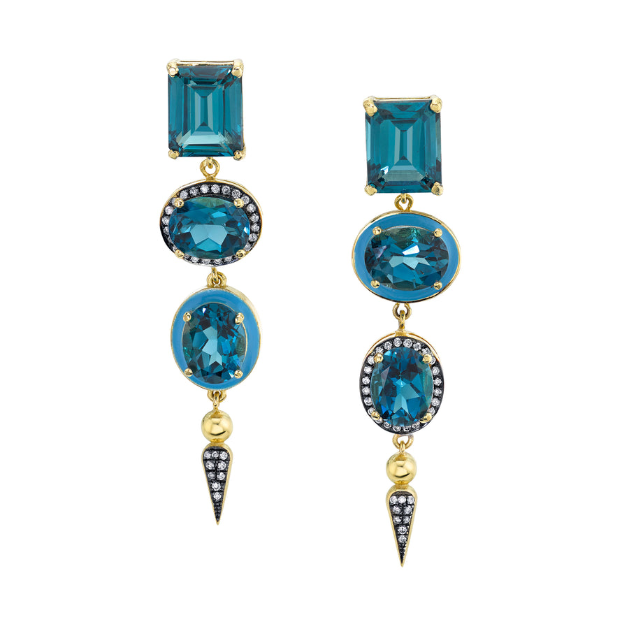 Shirley Spear Cocktail Earrings