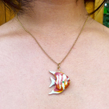 Tropical Fish Pendant