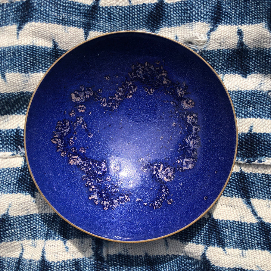 Vintage Abstract Jewelry Dish