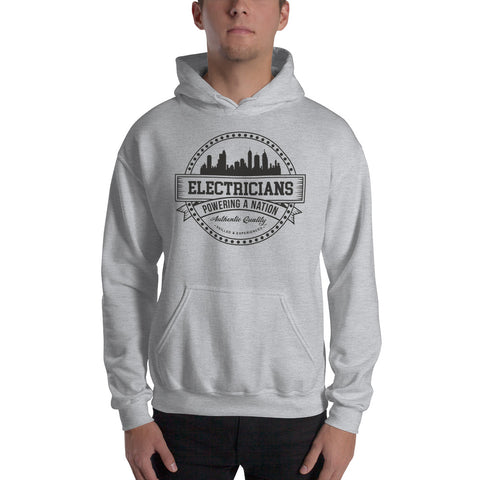 Electricians Powering a Nation - Gildan 18500 Unisex Heavy Blend Hooded Sweatshirt