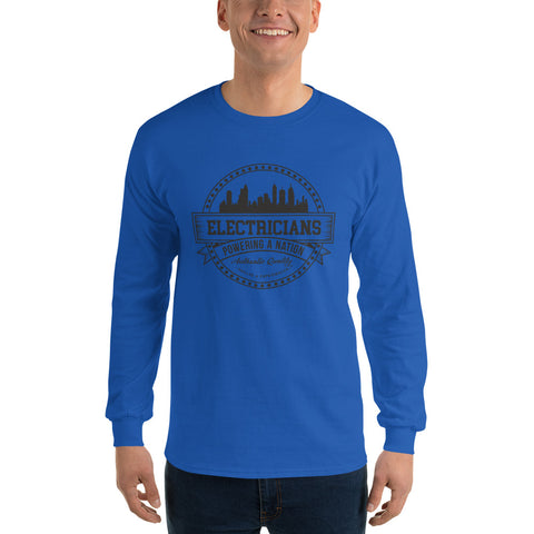 Electricians Powering a Nation - Gildan 2400 Ultra Cotton Long Sleeve T-Shirt