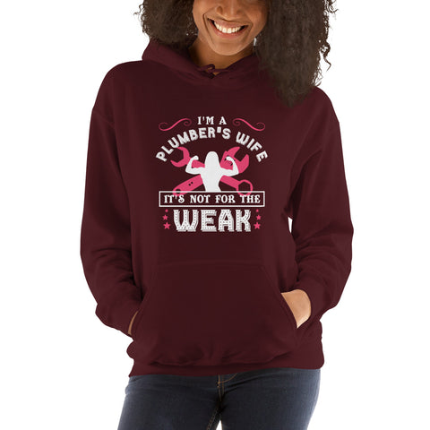 Image of Plumbers Wives Club - Hooded Sweatshirt