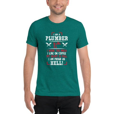 Image of Plumber Proud - Short sleeve t-shirt