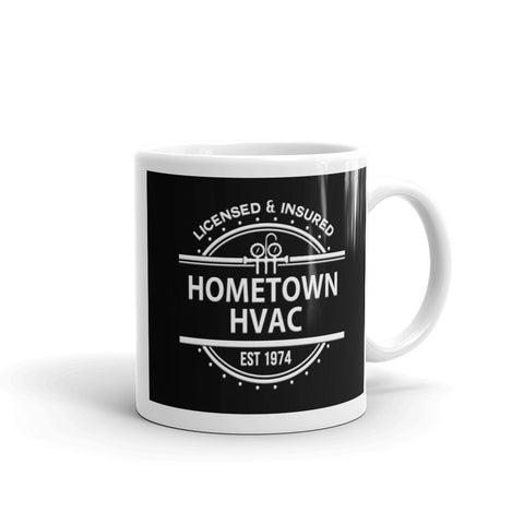 Image of Hometown HVAC - White Glossy Mug