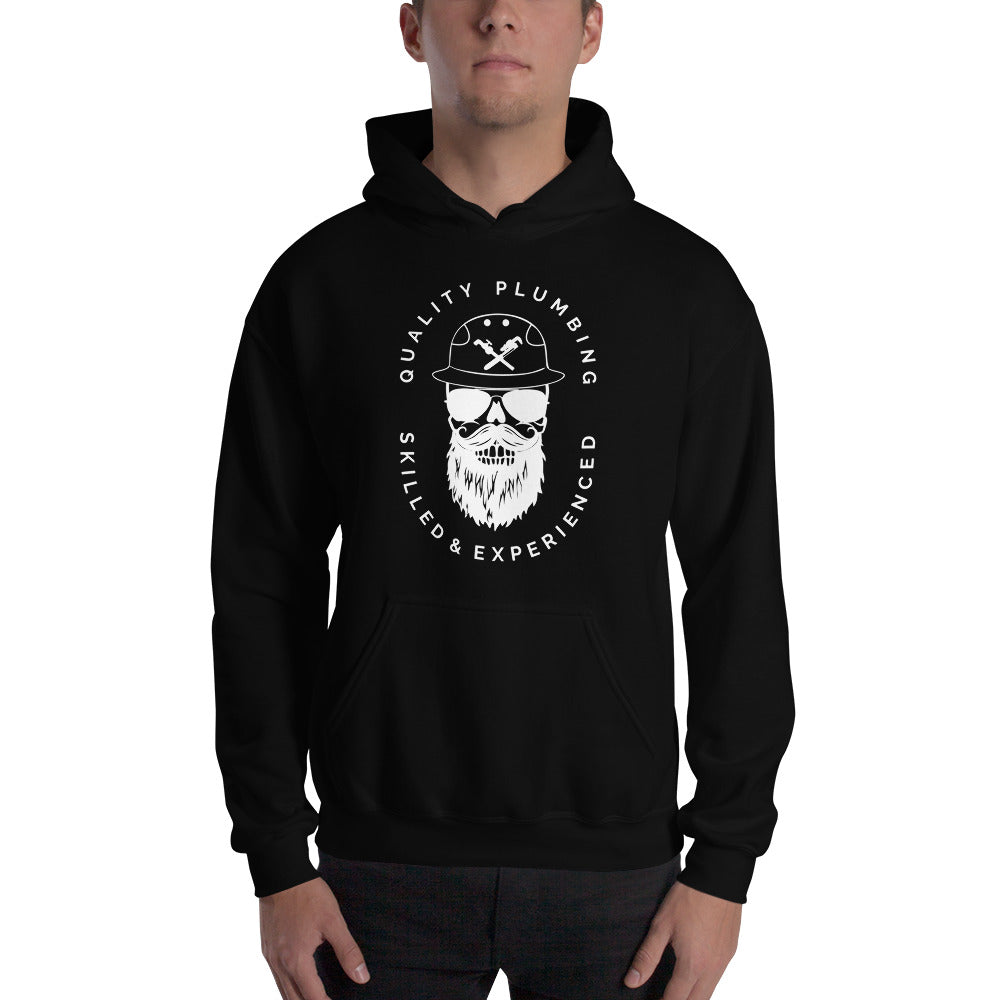 Cool Skilled Plumber - Gildan 18500 Unisex Heavy Blend Hooded Sweatshirt