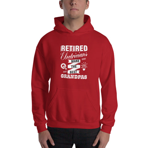 Image of Retired Electricians - Hooded Sweatshirt