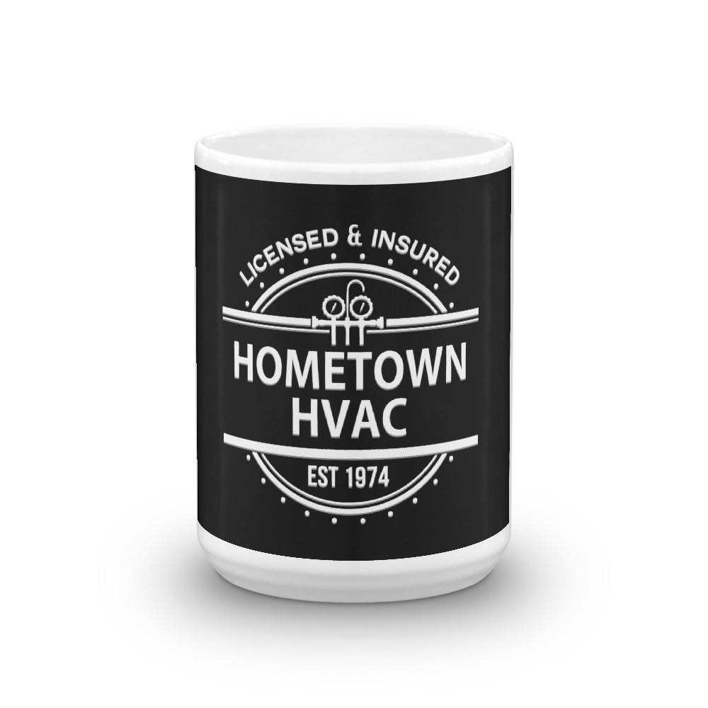 Hometown HVAC - White Glossy Mug