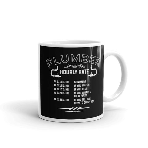 Plumber Hourly Rate - Mug