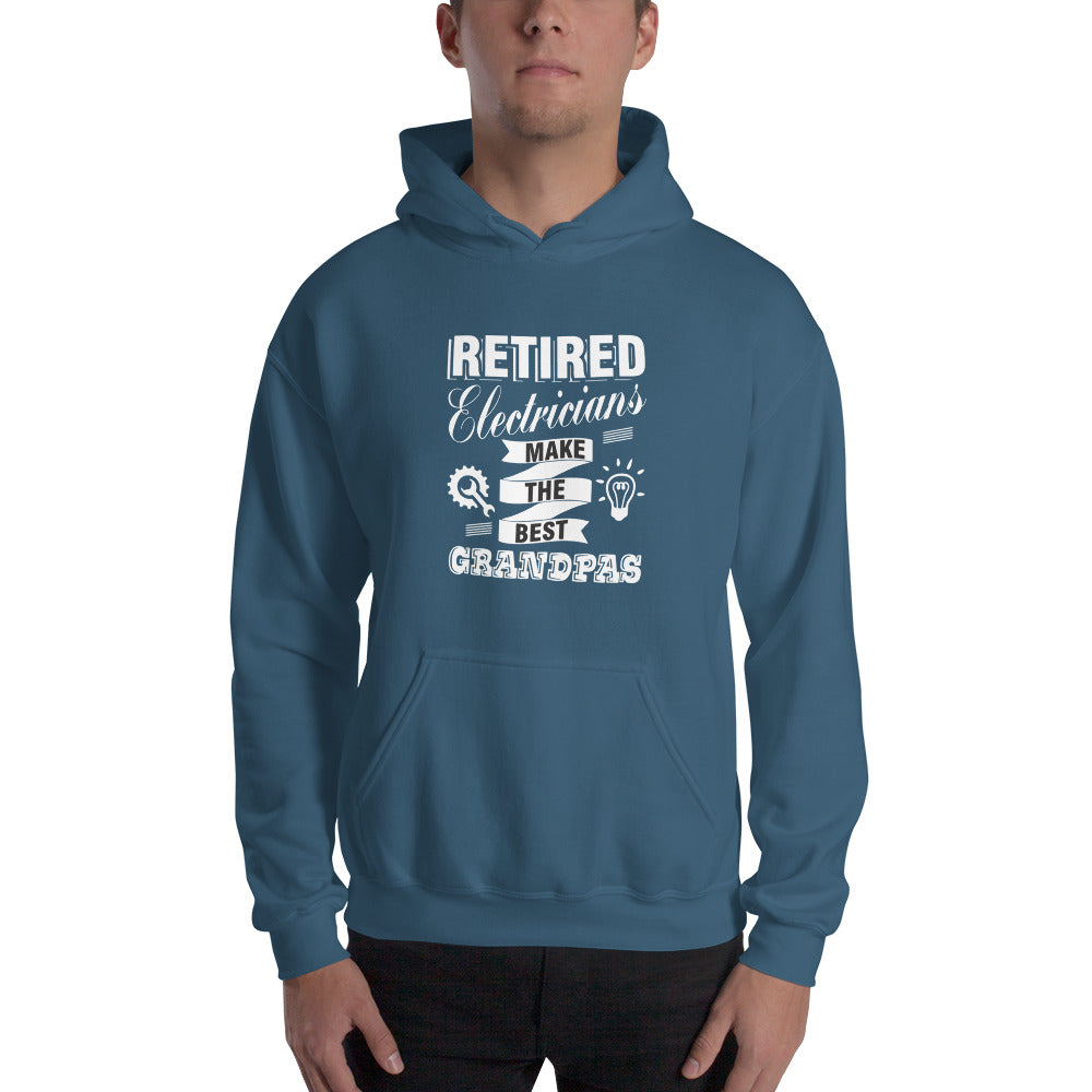 Retired Electricians - Hooded Sweatshirt