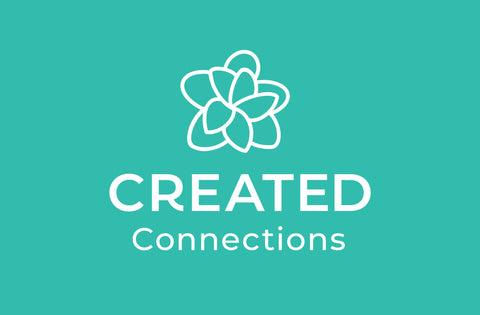 Created Connections – Yoga, Nutrition & Wellbeing Brand Identity Design – Gold Coast, Australia