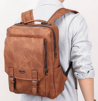 SAC A DOS JEEP BACKBAG MEN JEEP LEATHER ADVENTURE