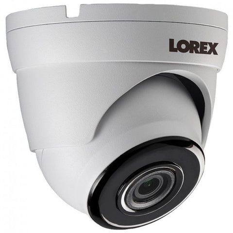 Lorex LKE343 4.0-Megapixel Super HD PoE Security Dome Camera with Color Night Vision