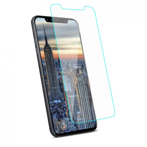 REIKO IPHONE X TEMPERED GLASS SCREEN PROTECTOR IN CLEAR