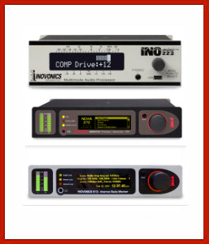 Receivers, Monitors and Audio Processors