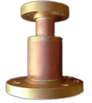 "Reducer 1-5/8"" Female to 7/8"" Male Flanged"