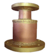 "Reducer 3-1/8"" Female to 1-5/8"" Male Flanged"