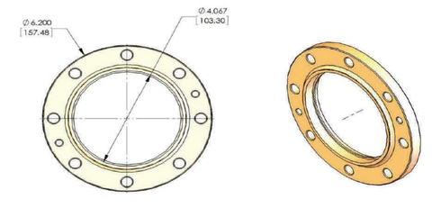 "4-1/16"" Fixed Flange"