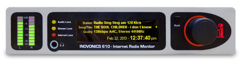 Internet Radio Monitor Model 610