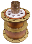 "Reducer 6-1/8"" Flanged Female to 4-1/16"" Flangled Male"