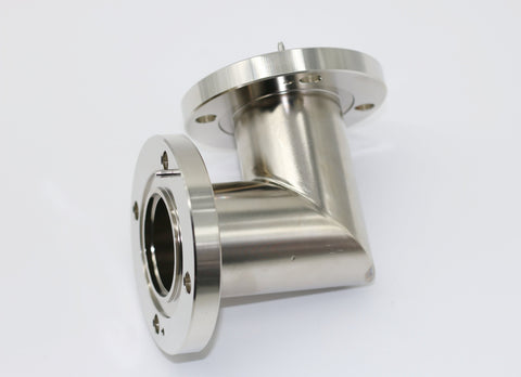 "1-5/8"" 90 Degree Elbow Flanged"