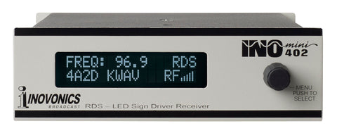 INOmini RDS Sign Driver/Receiver Model 402