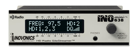 INOmini HD Radio™ SiteStreamer™ Model 638