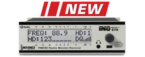 INOmini FM/HD Radio™ Monitor/Receiver Model 679