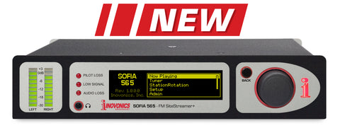 SOFIA FM SiteStreamer+™ Model 565