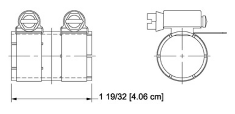 "7/8"" Unpressurized Coupling Without Inner Conductor"