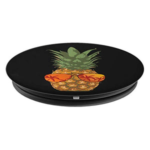 Pineapple Shades Aloha Hawaii Tropical Beach Vintage PopSockets Grip and Stand for Phones and Tablets