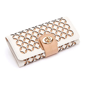 WOLF Chloé Jewelry Roll, One Size, Cream