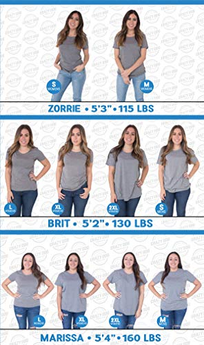 Crazy Dog T-Shirts Womens I Like Coffee and Maybe 3 People T Shirt Funny Sarcastic Tee for Ladies (Heather Light Blue) - S